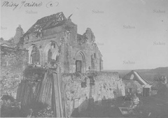 MISSY SUR AISNE   église destruction c